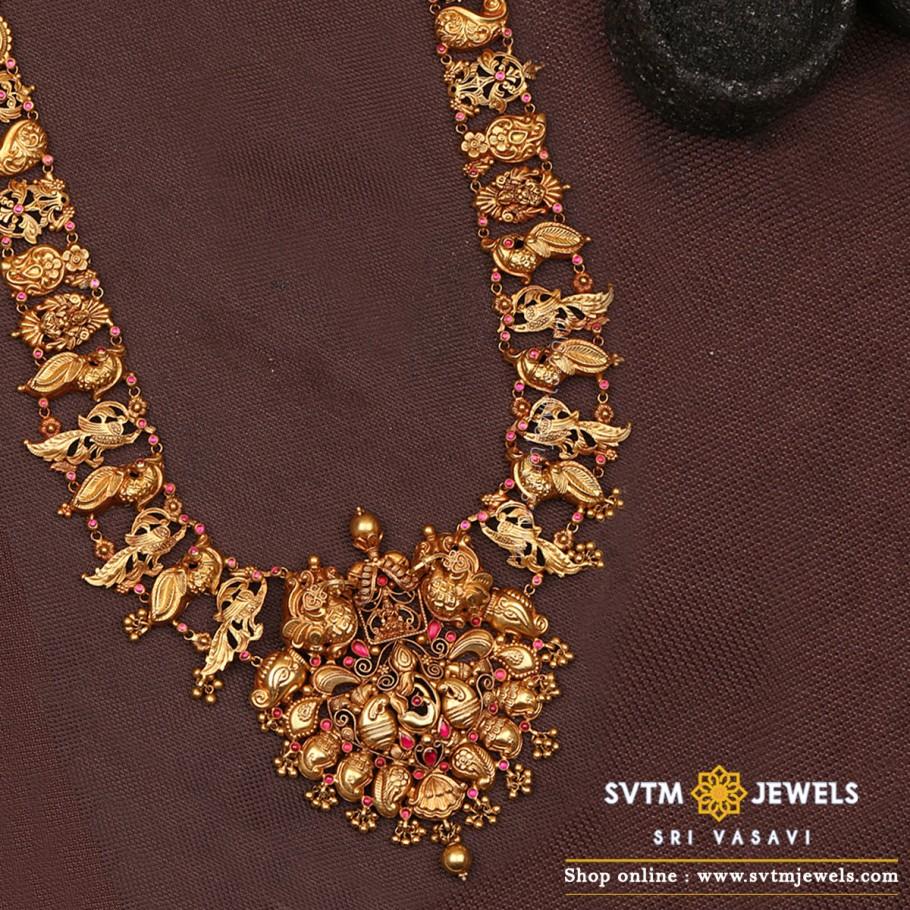 Captivating Mayuri necklace
