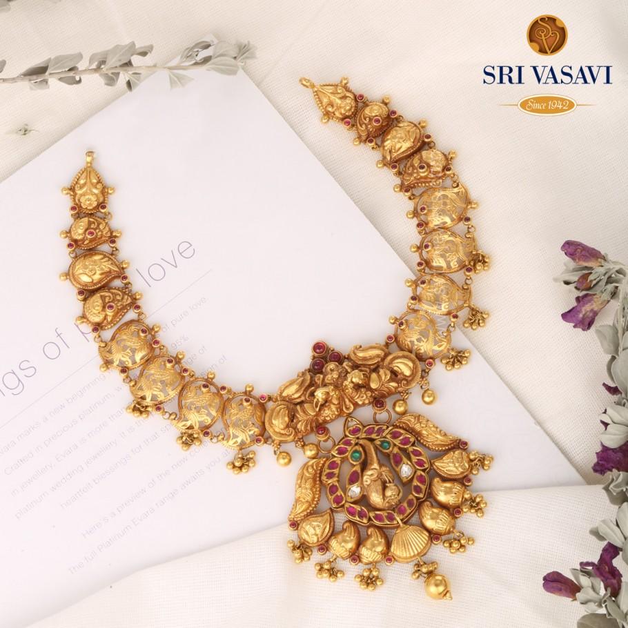 Shifa Mayuri Short Necklace