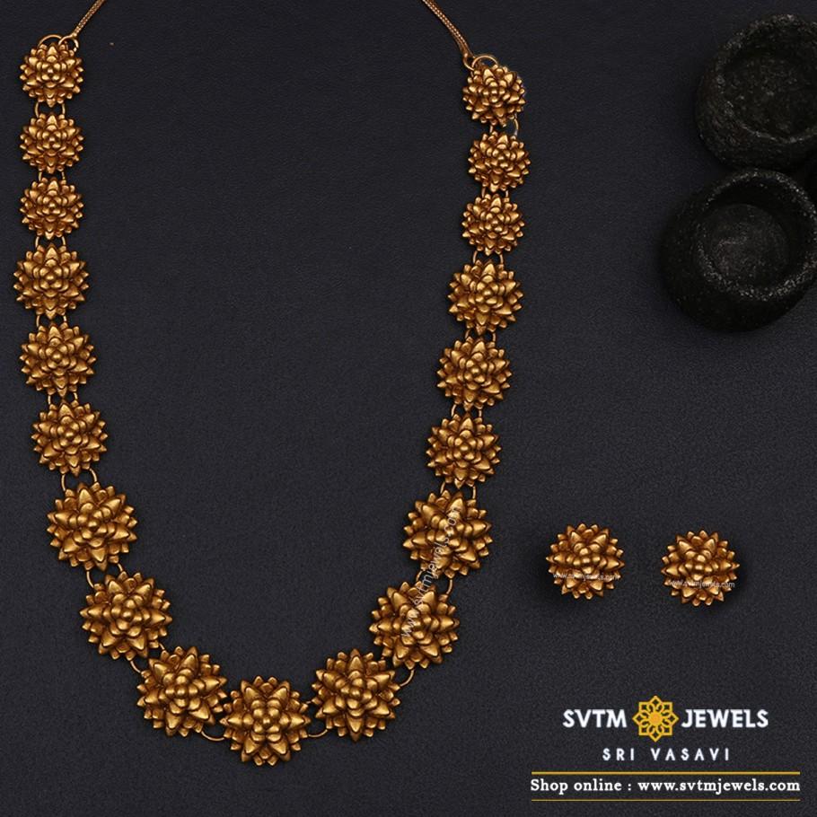 Linda Floral Necklace Set