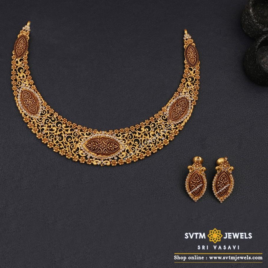 Litisha Short Necklace Set