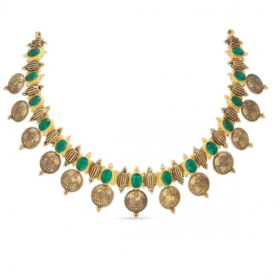 Sunanda Lakshmi Short Necklace