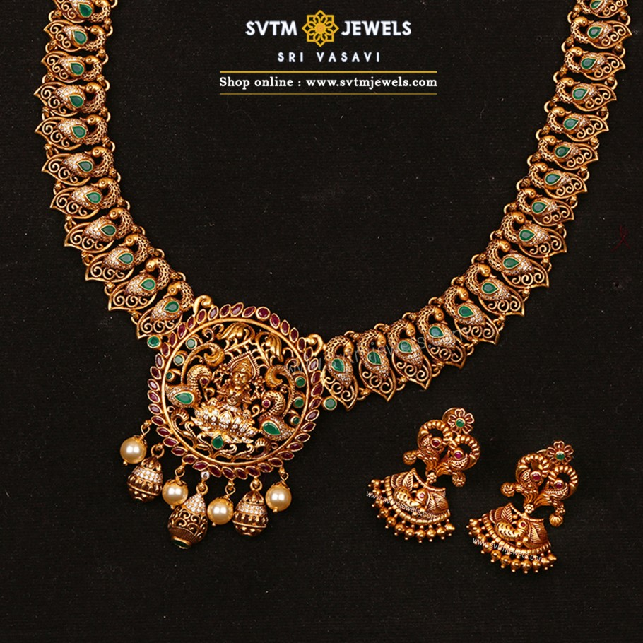 Vanamala Lakshmi Necklace Set