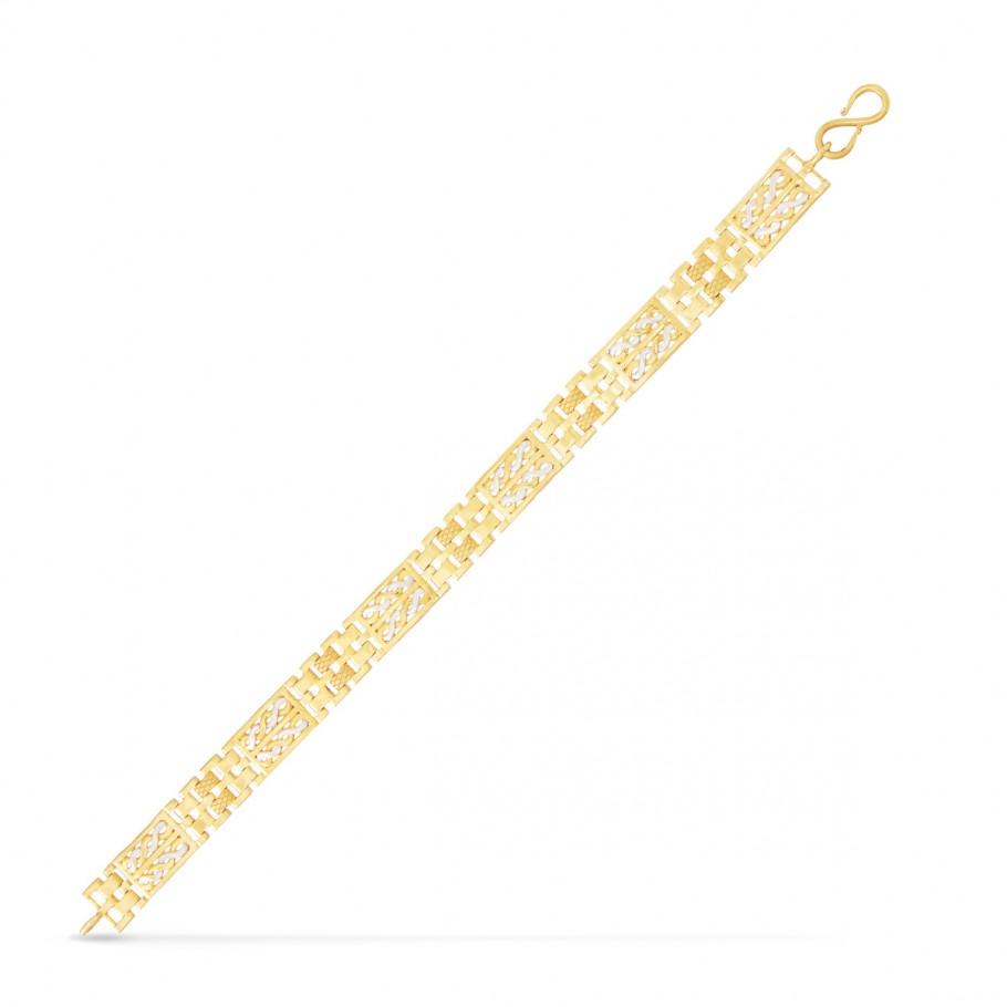 White Rhodium Bracelet