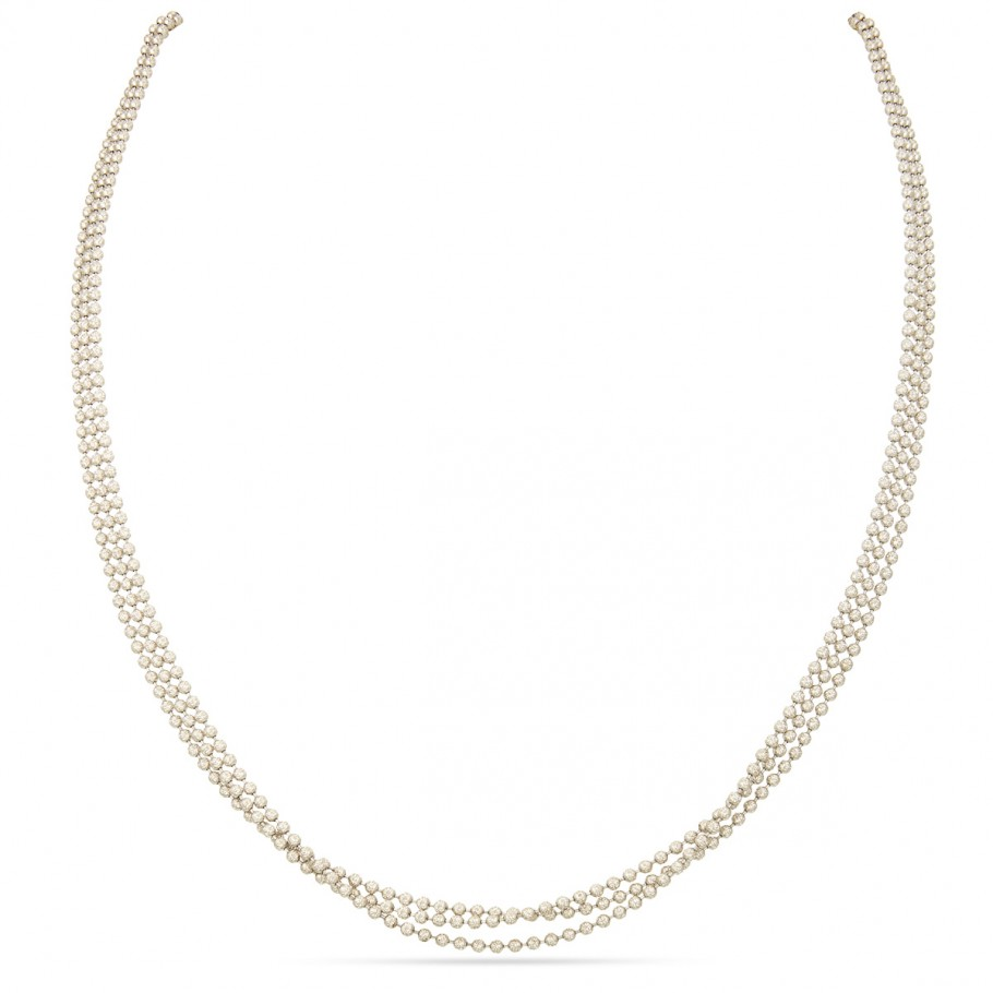 White Gold Beads Chain