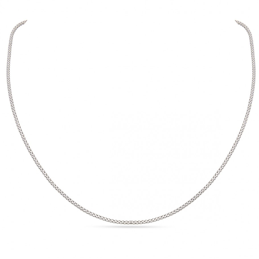 Fancy White Gold Chain