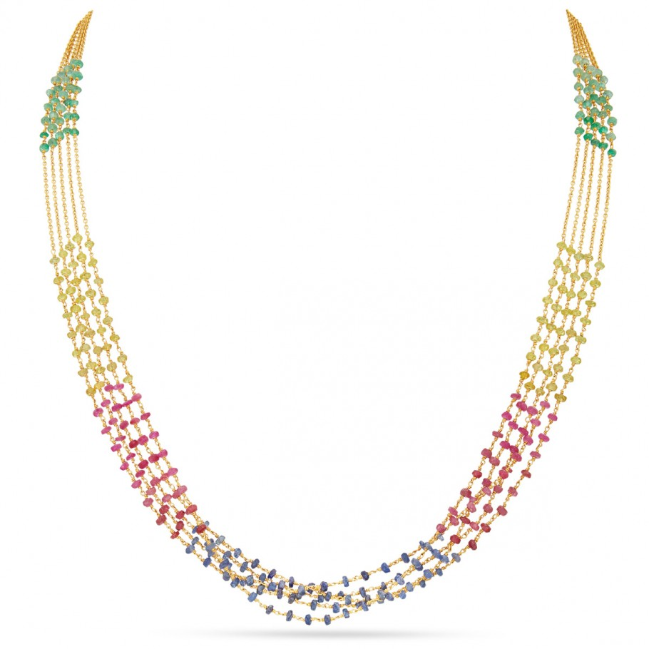 Multicolour Beaded Chain