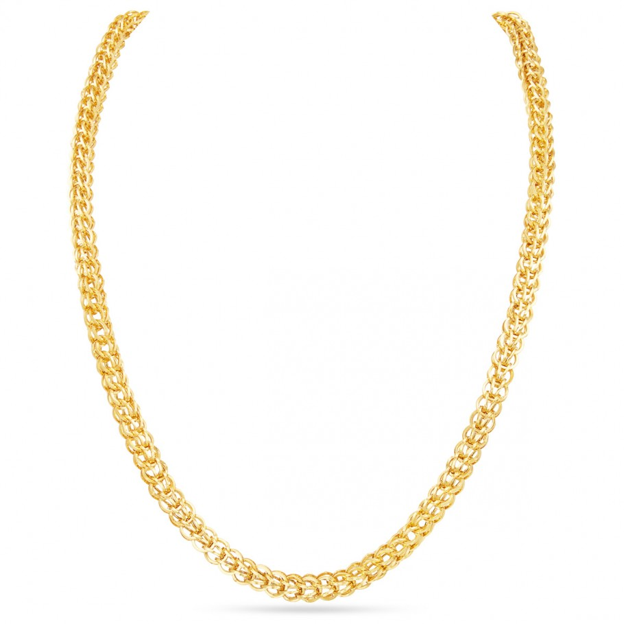 Fancy Yellow Gold Chain