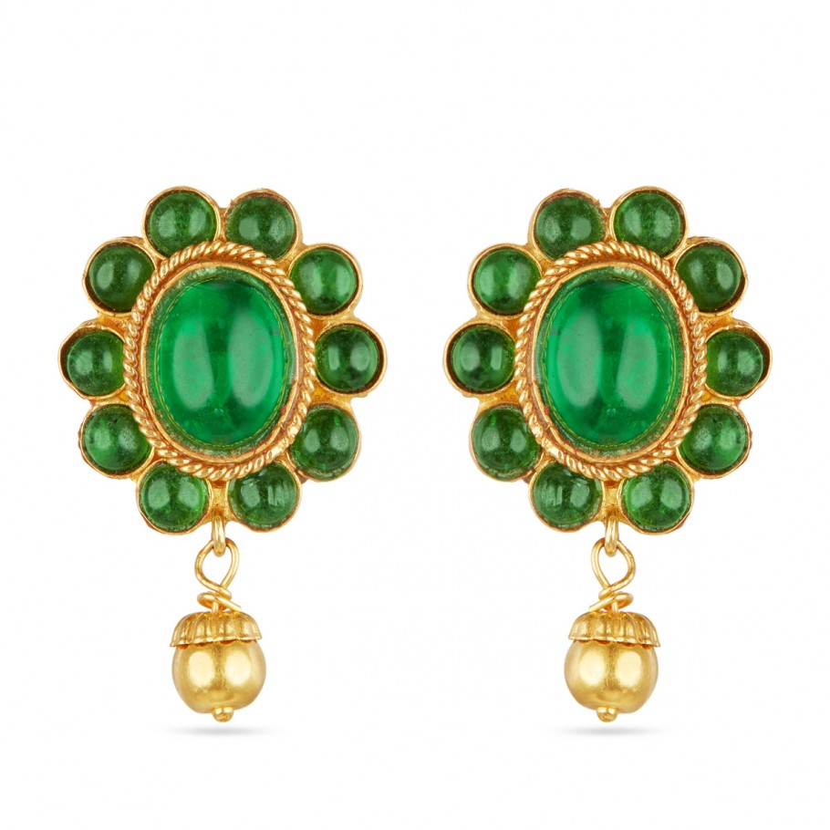 Emerald Ovals