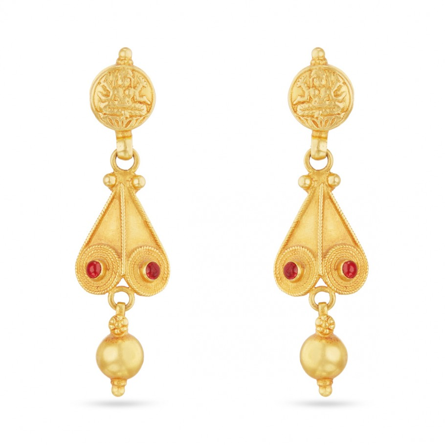 Antique Lakshmi Ear-drops