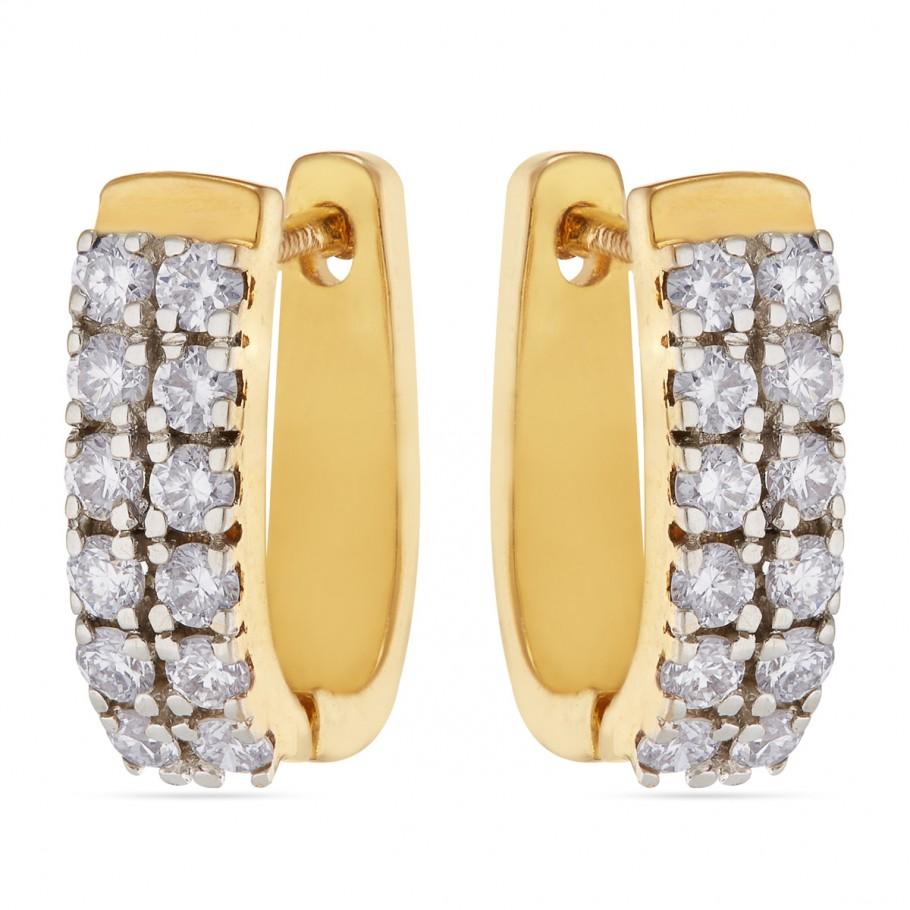 Twin Row Diamond Baalis