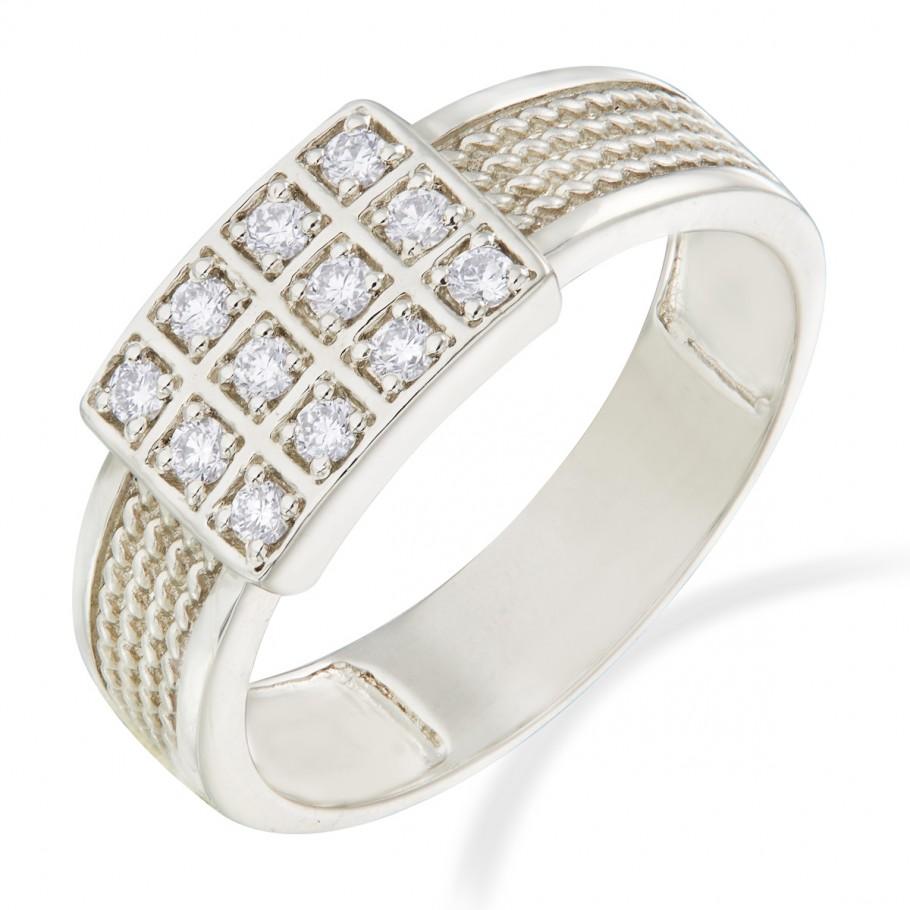 Diamond Platinum Ring