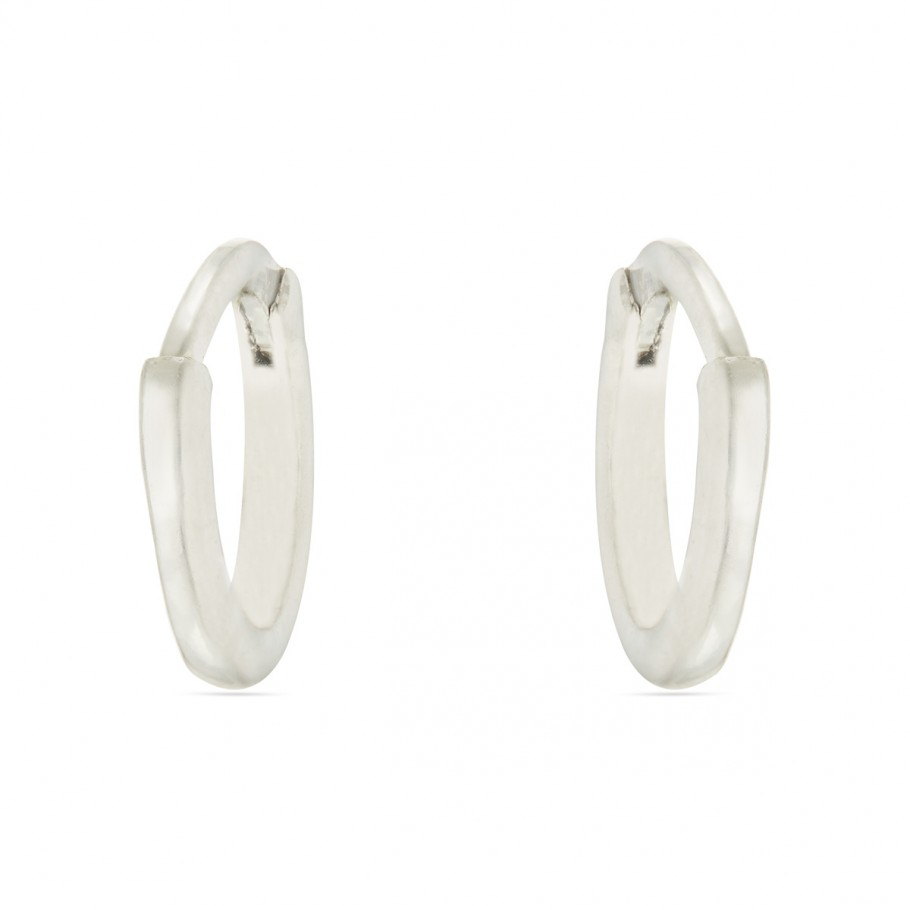 Platinum Mini Hoops