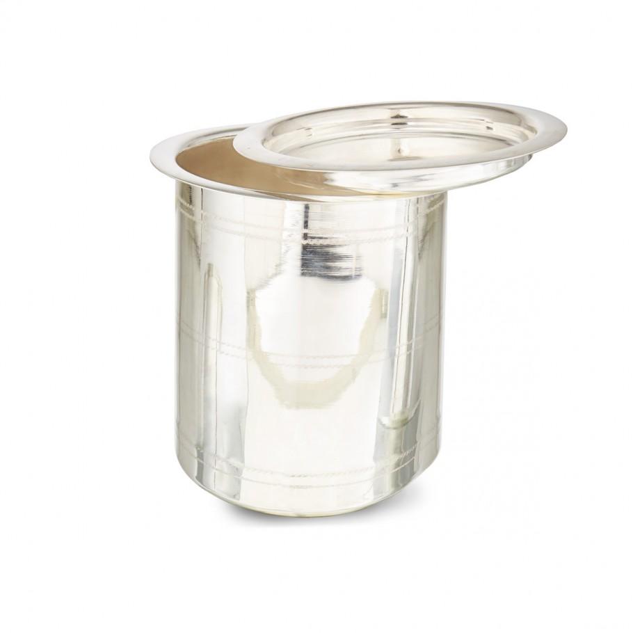Milk Vessel in Silver