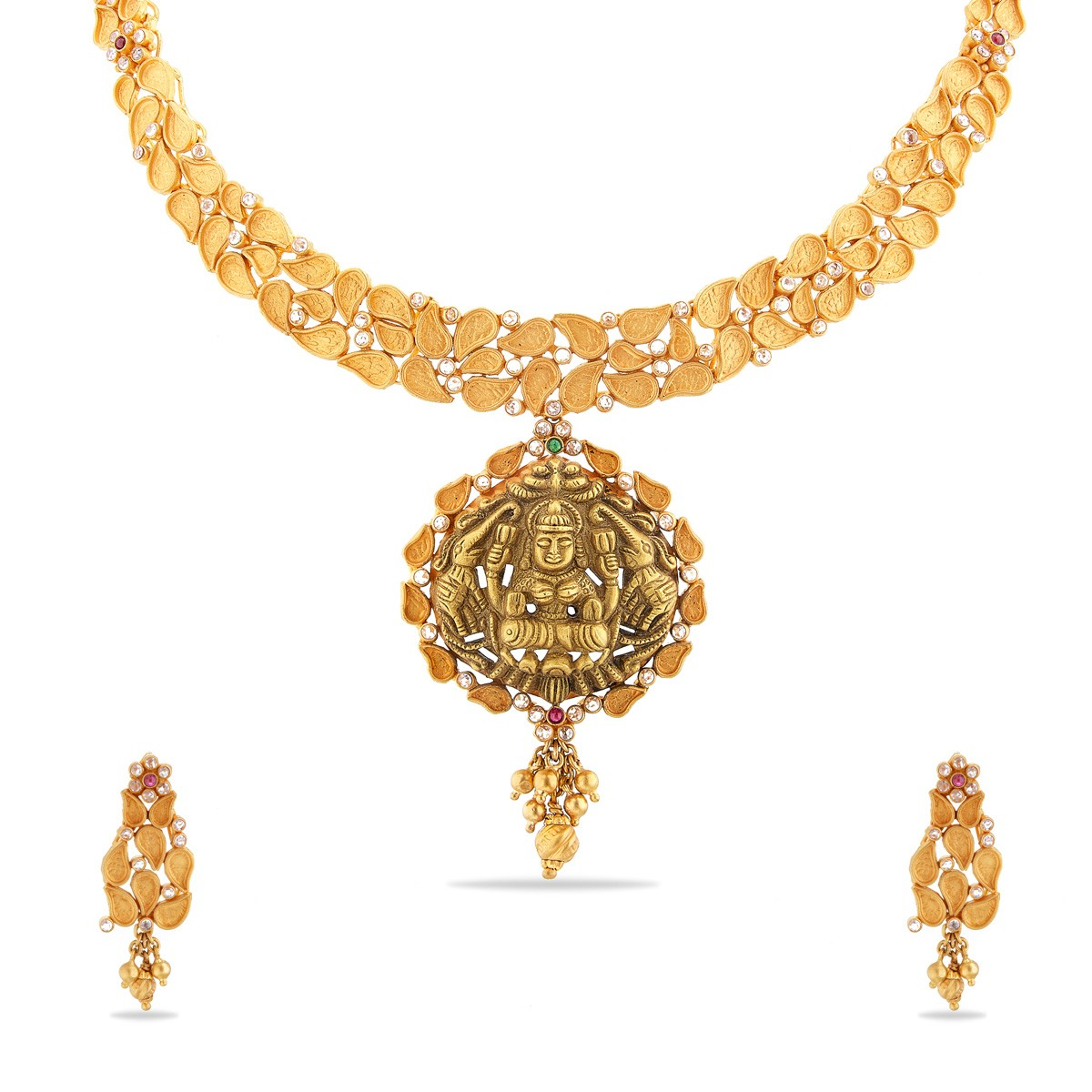 necklace online ruby beautiful color red designer maang with golden latest sets tika set buy indian products jewellery