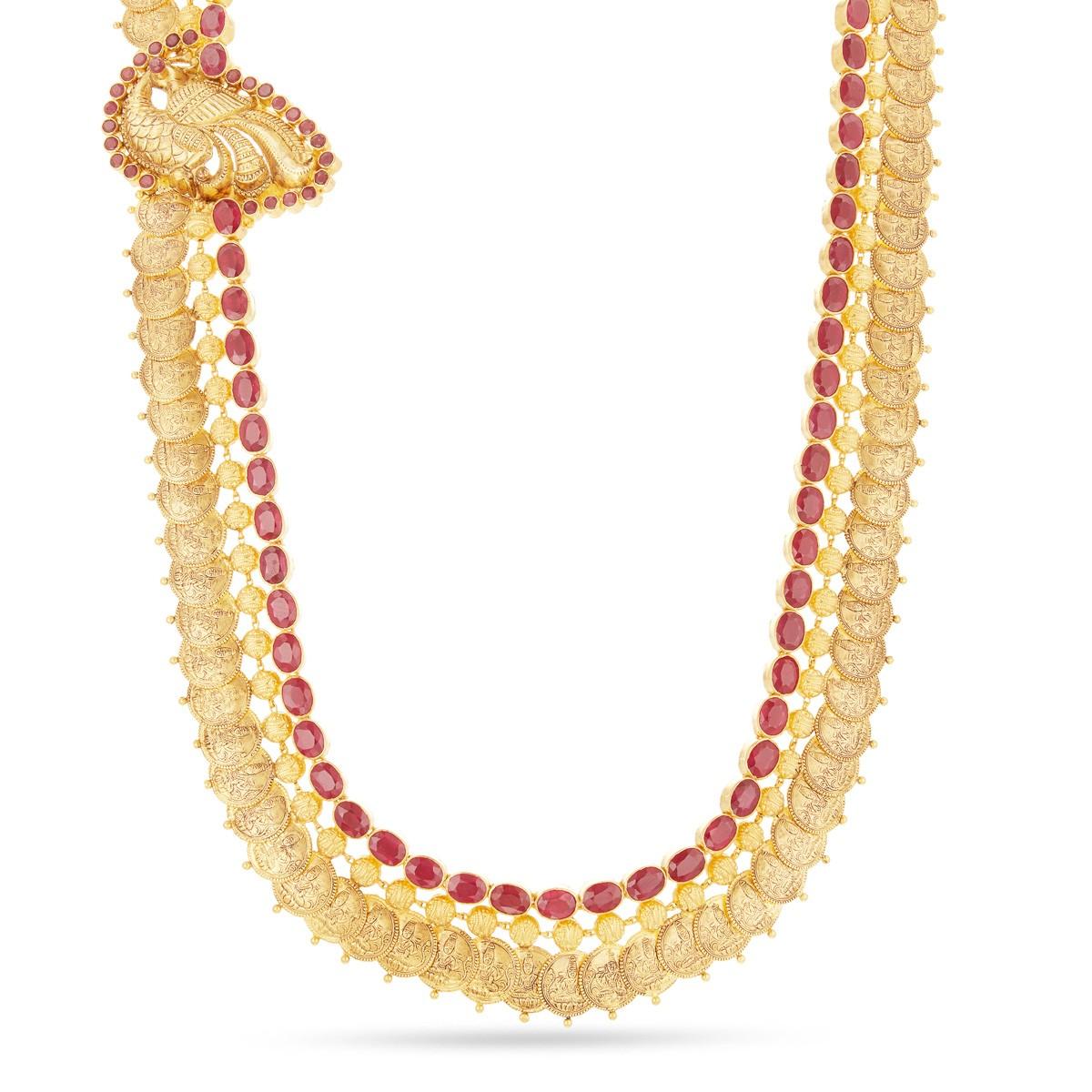 Nagas Design Gold Necklace | New Fancy Design Gold Necklace | Ruby ...