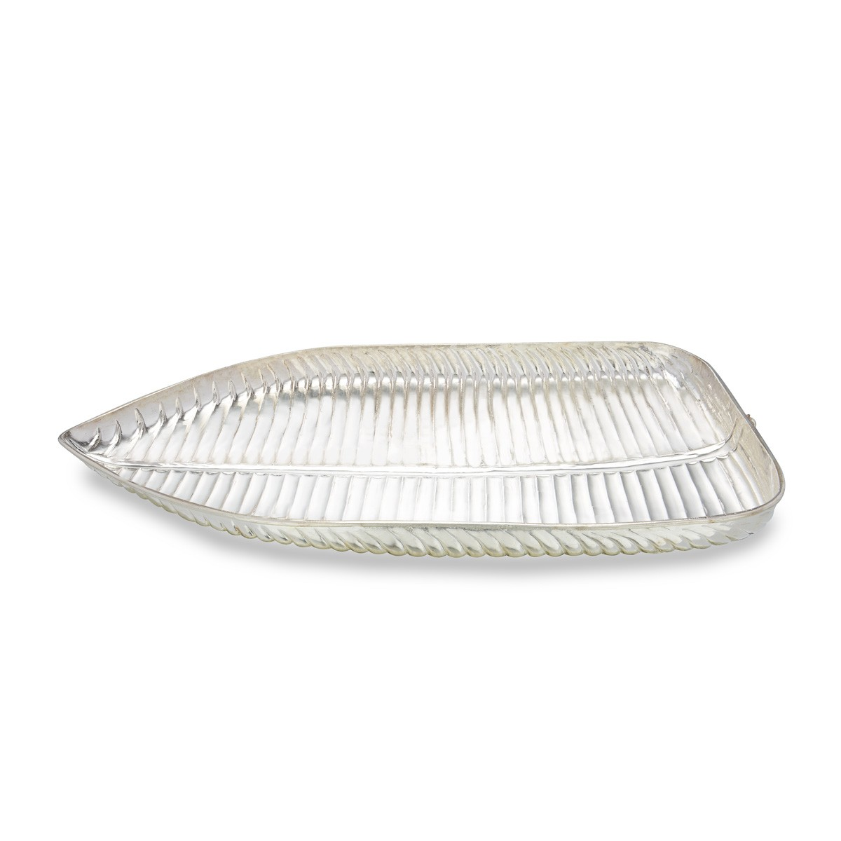 Banana Leaf Plate In Silver - Silver dinner sets u0026 plates - Silver Articles  sc 1 st  SVTM Jewels & Banana Leaf Plate In Silver - Silver dinner sets u0026 plates - Silver ...