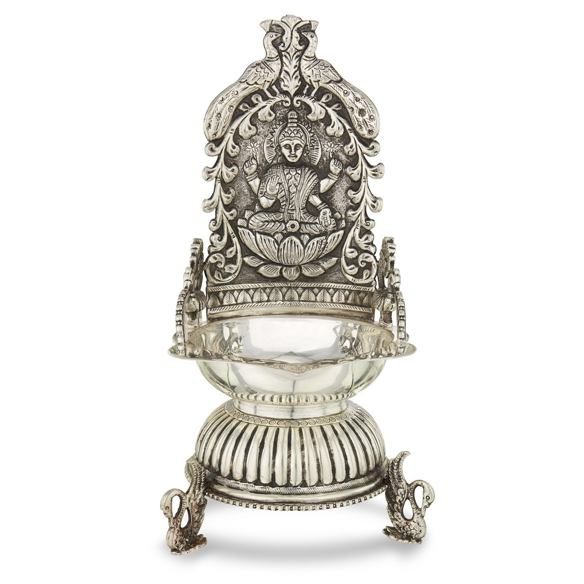 Silver Antique Kamatchi Lamp - Silver lamps - Silver Articles for Silver Kamatchi Lamp  58lpg