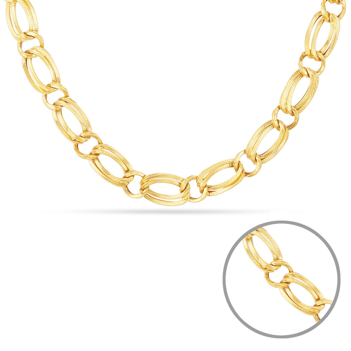 Buy Indo-Italian Design Gold Chain | Buy Mens Gold Chain | Buy ...