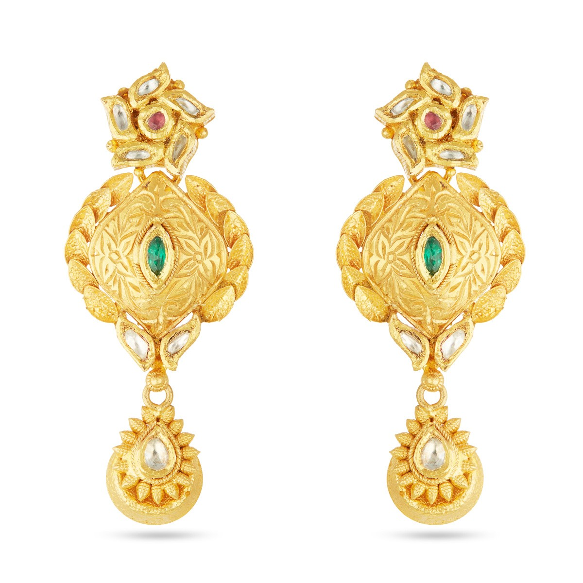 Gold Earring Online | Attractive Gold Earring | New Design Gold ...
