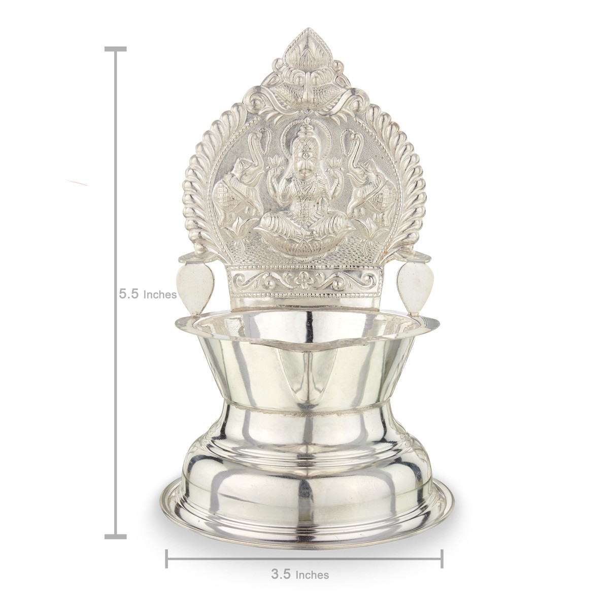Kamatchi Lamp in Silver! - Silver lamps - Silver Articles for Silver Kamatchi Lamp  34eri