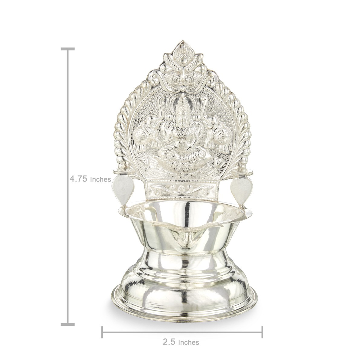 Silver Kamatchi Lamp - Silver lamps - Silver Articles for Silver Kamatchi Lamp  242xkb