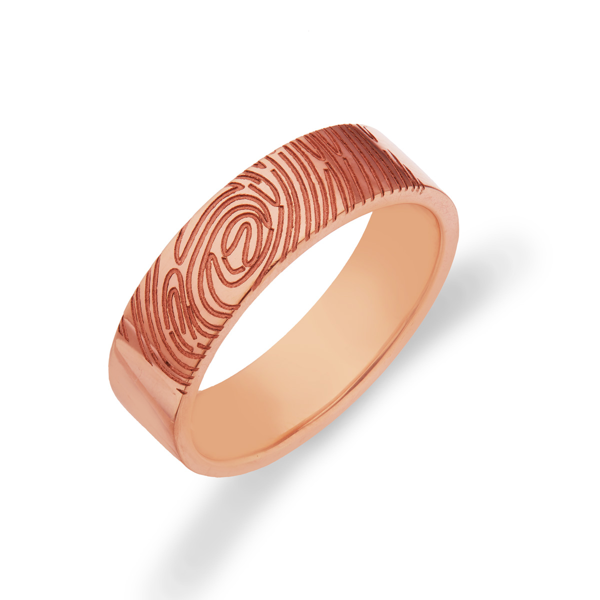 Pretty FingerPrint Ring