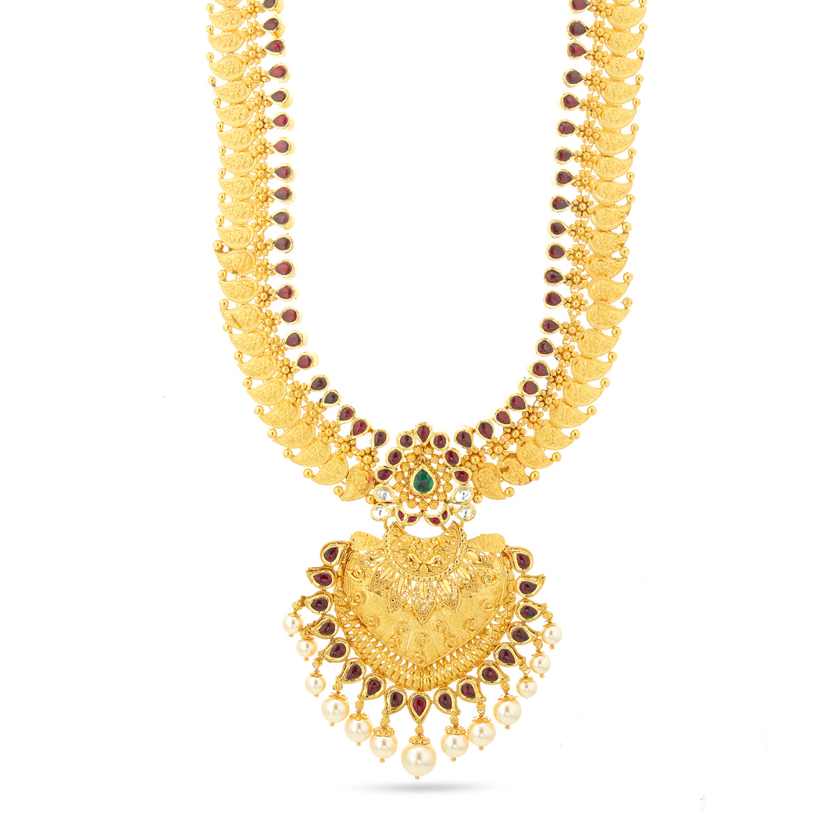 Kundan&Pearl Necklace