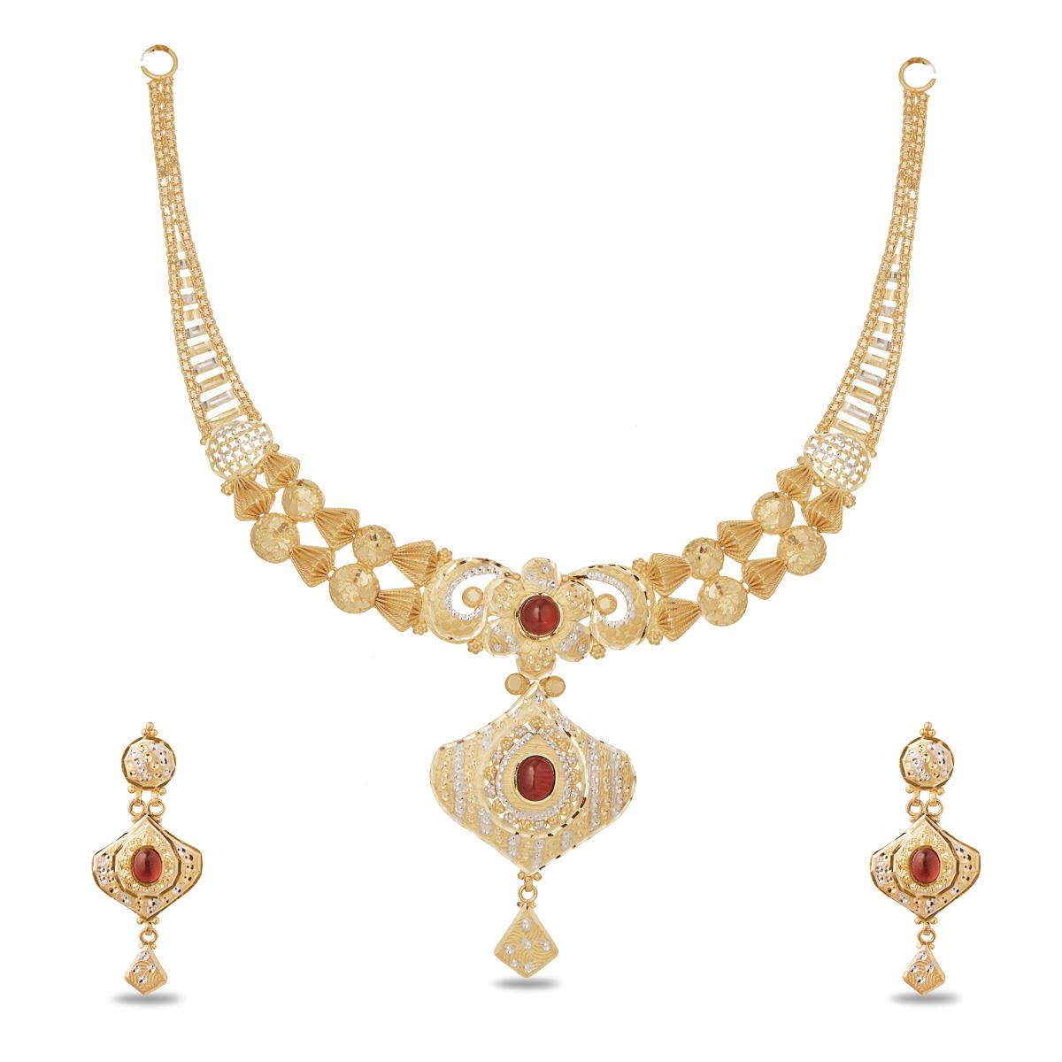 Fancy Stone Necklace
