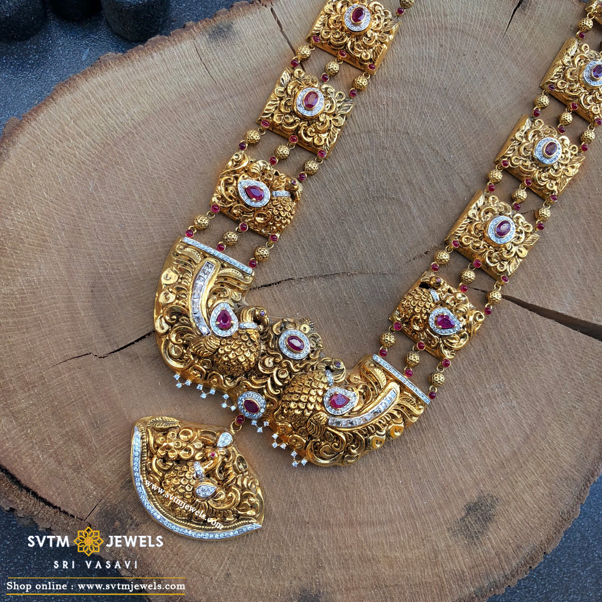 Traditional Mayur Necklace