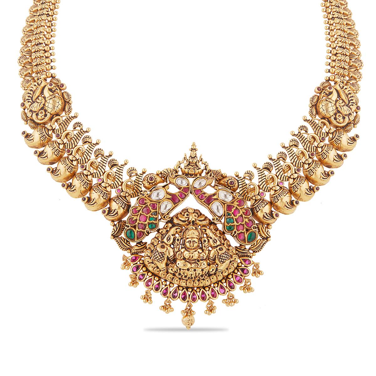 Lakshmi Short Necklace