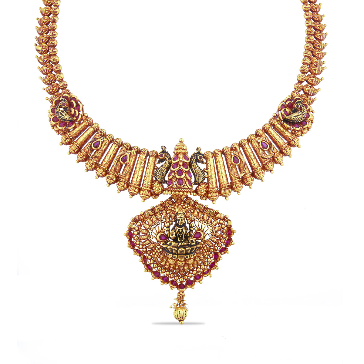 Mesmerizing Lakshmi Necklace