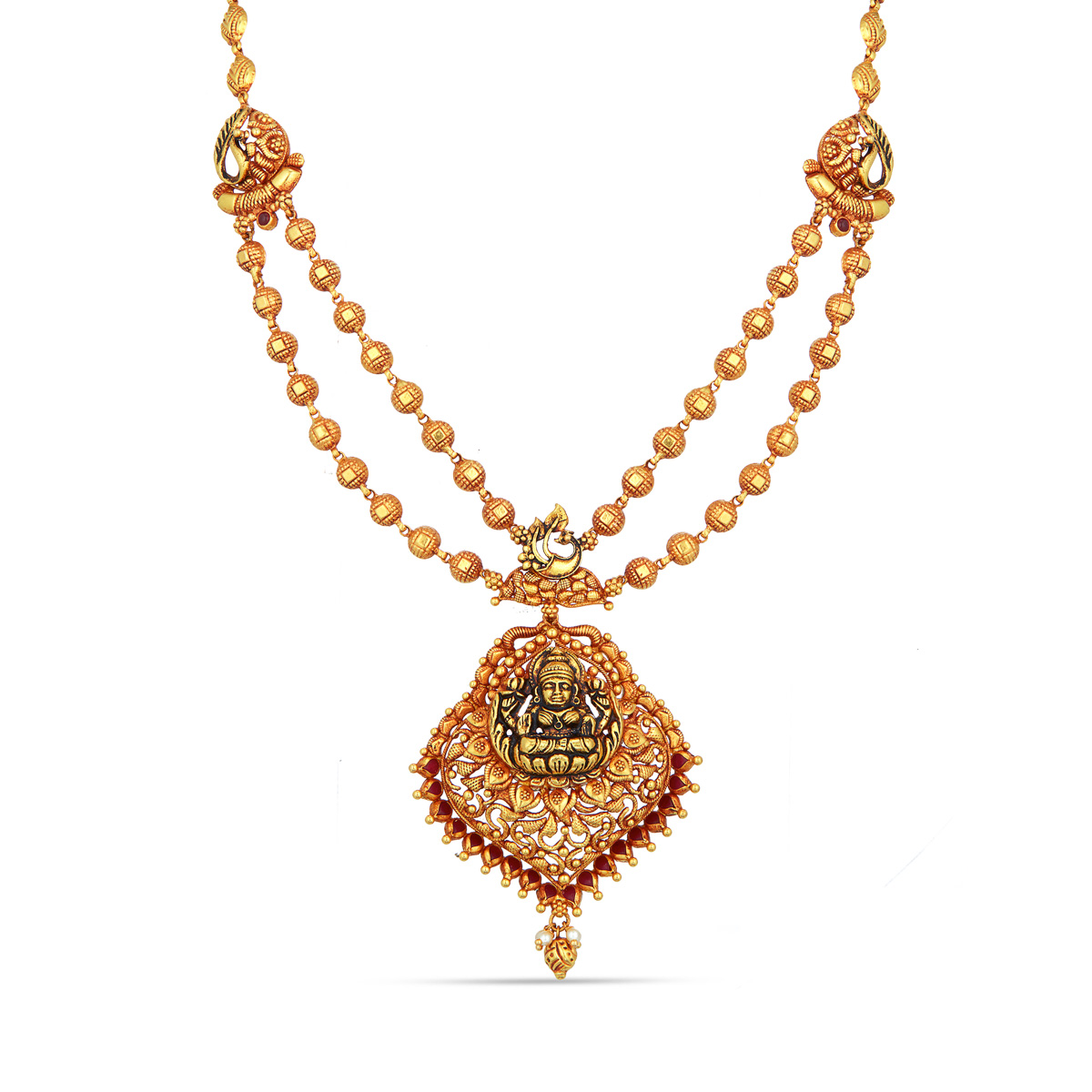 Double Row Lakshmi Necklace