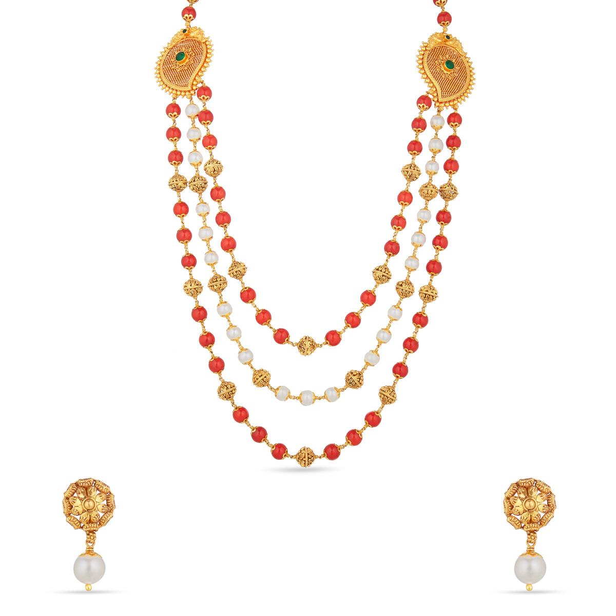 Kangana Layer Necklace Set
