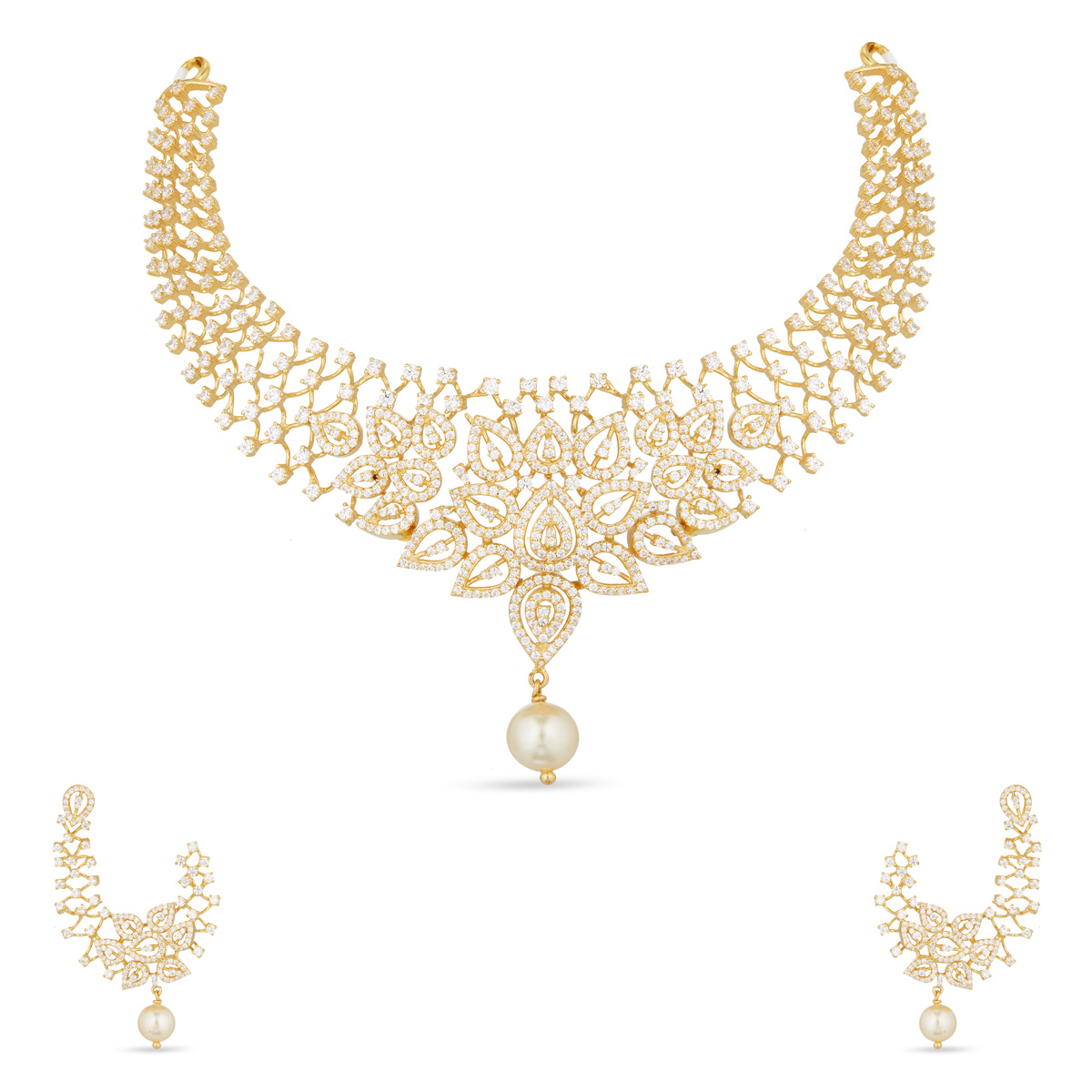 Kajri Short Necklace Set
