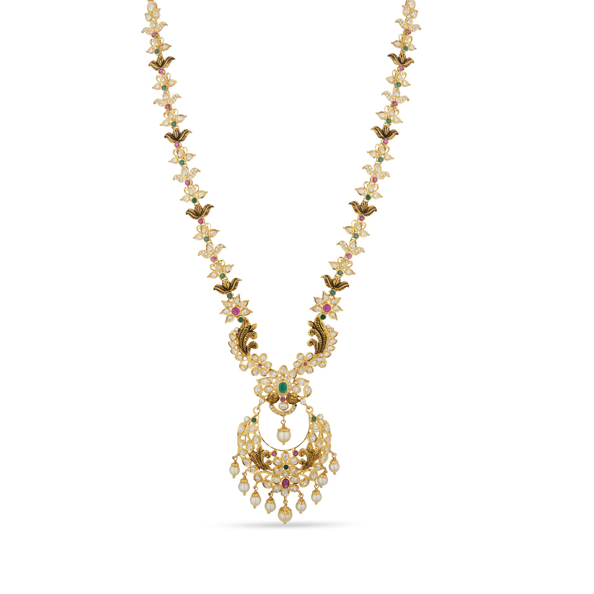 Chandbali Style Necklace