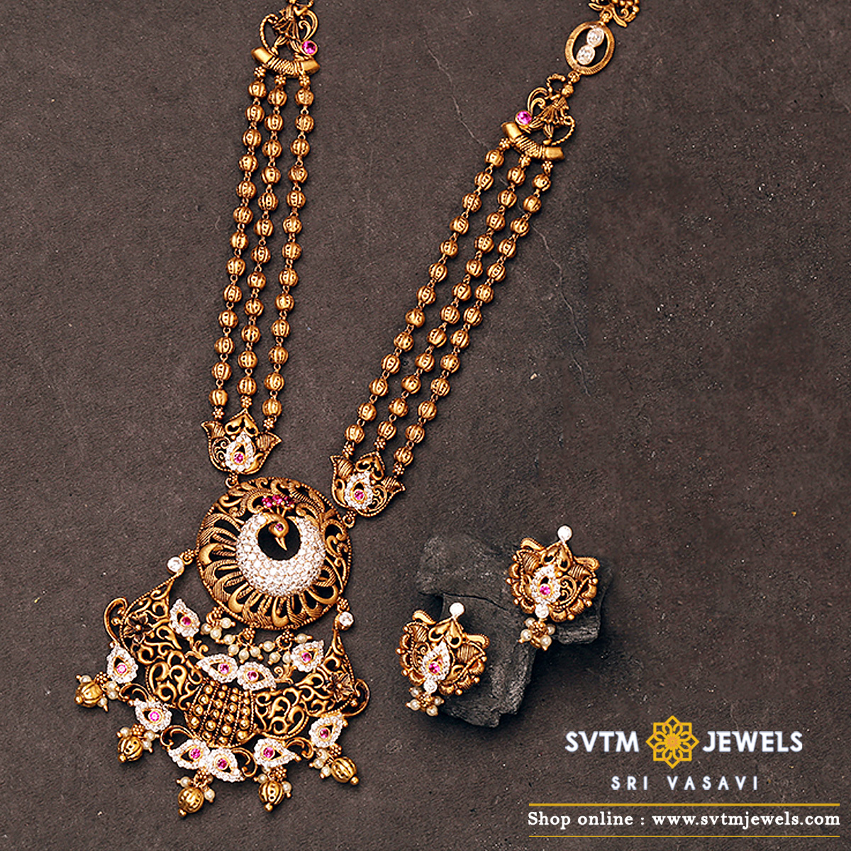 Chetana  Necklace Set
