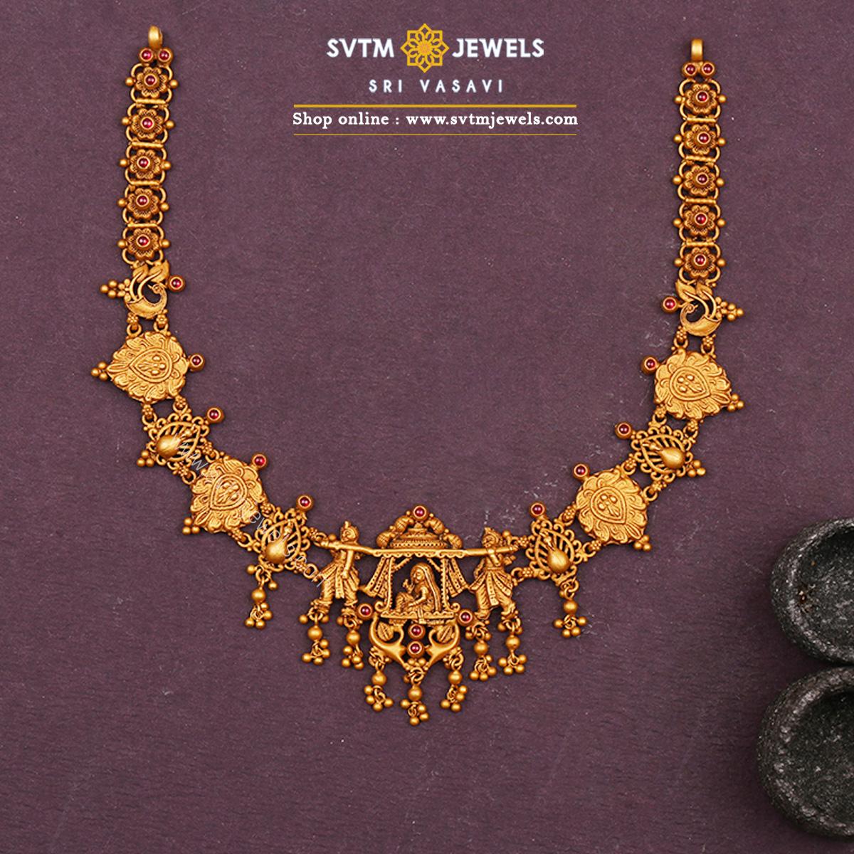 Indira Rani Short Necklace