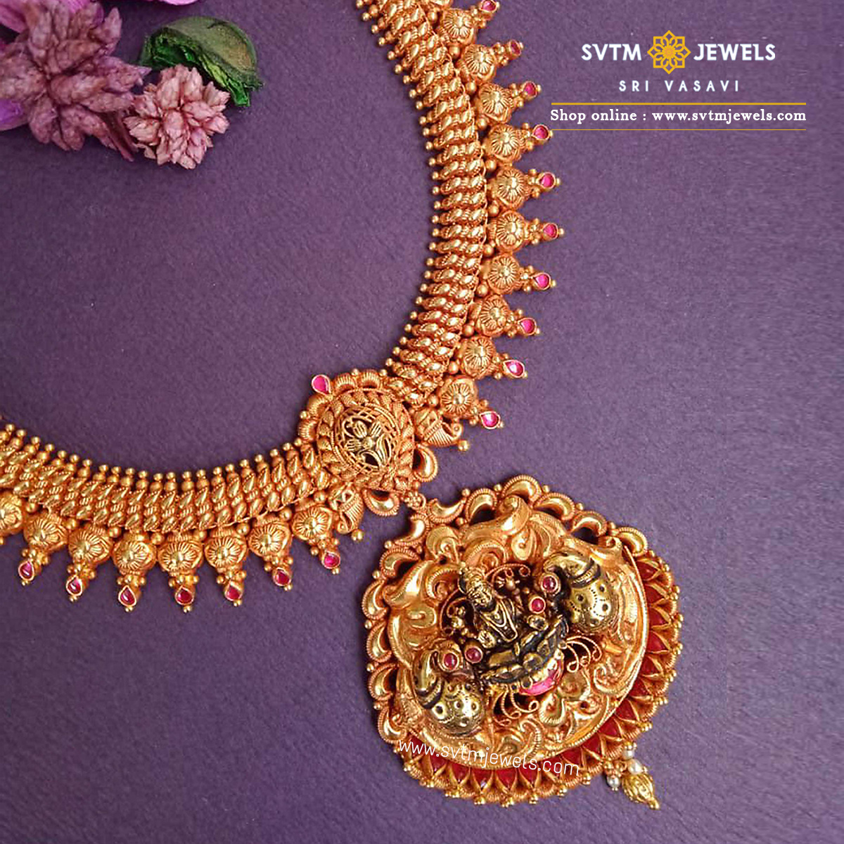 Astonishing Padma Necklace