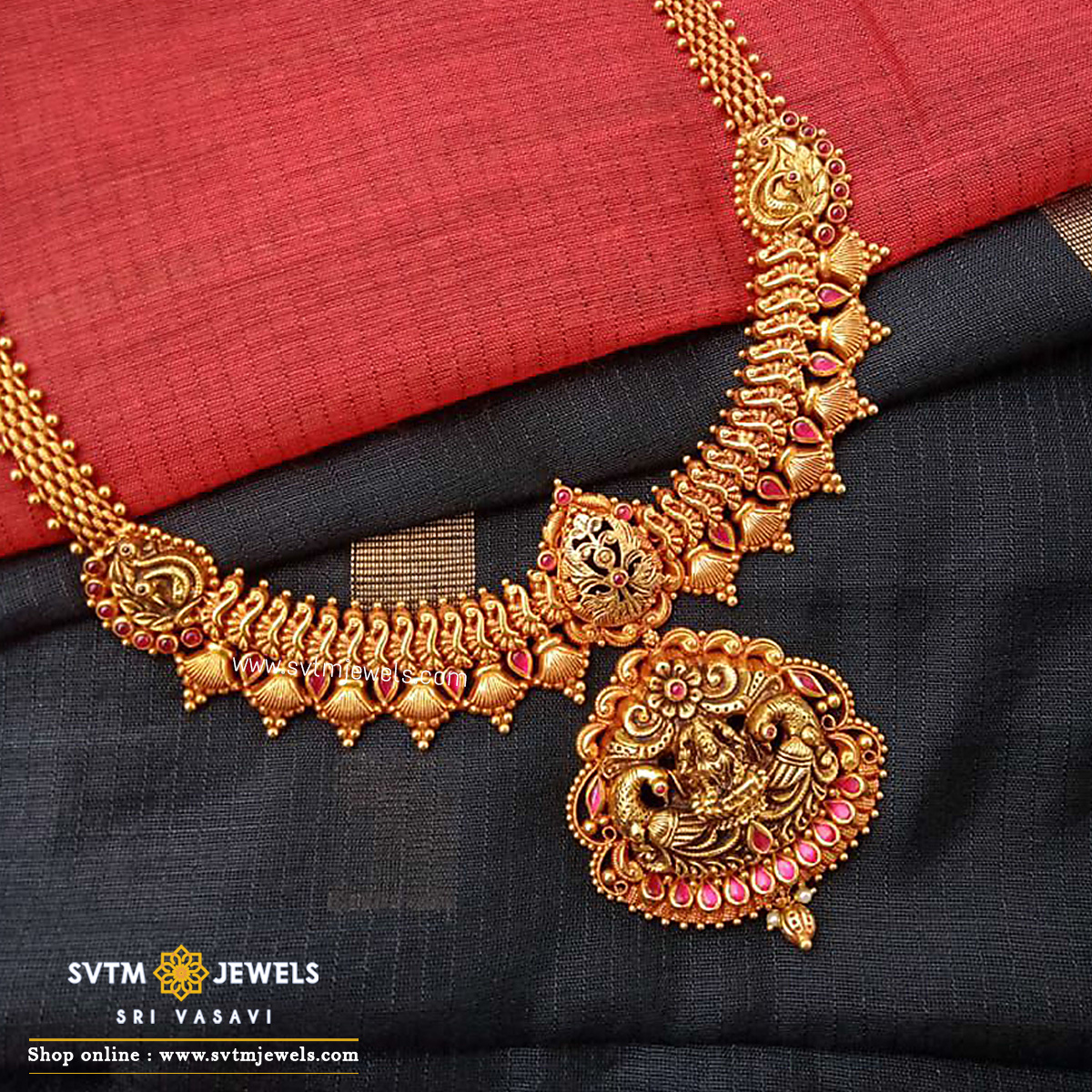 Vibhuti Playact Necklace