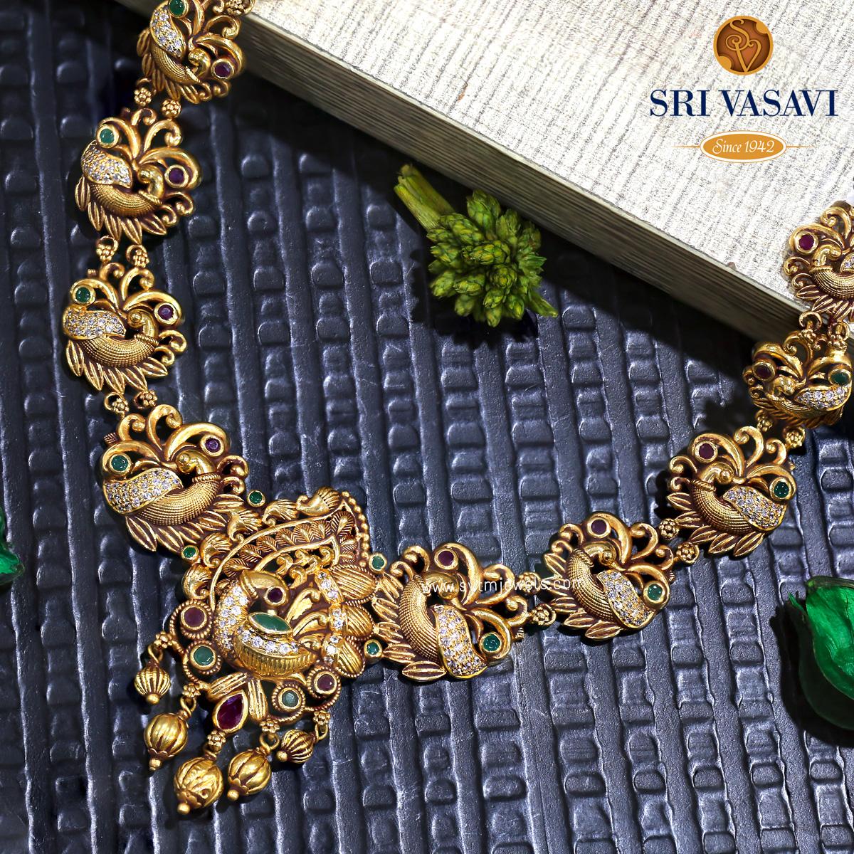 Verdigris Short Necklace