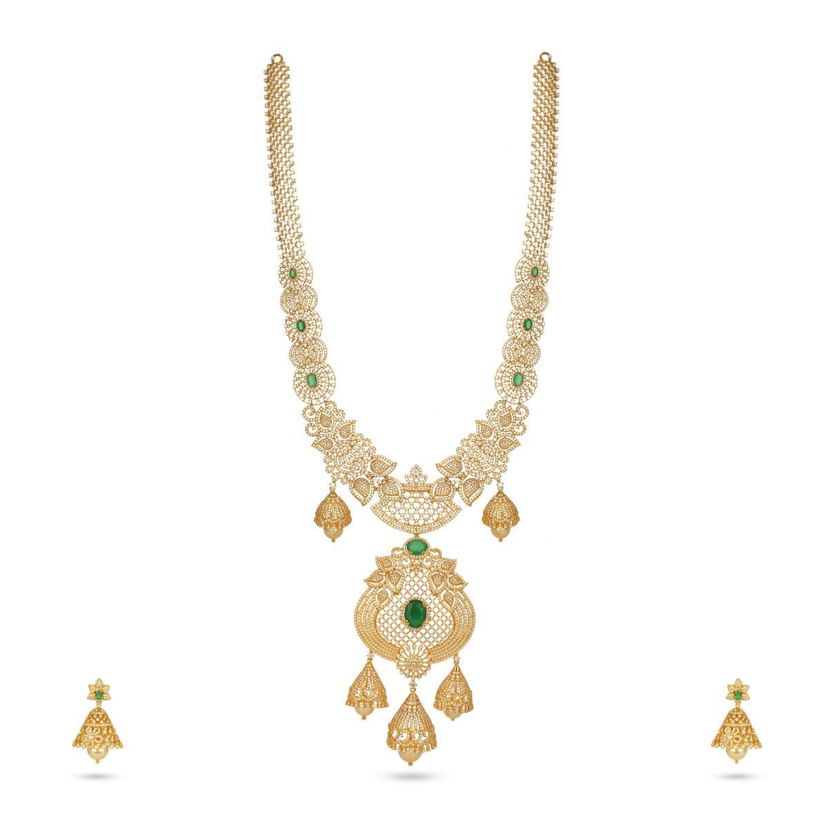 Beguiling Necklace with Earrings