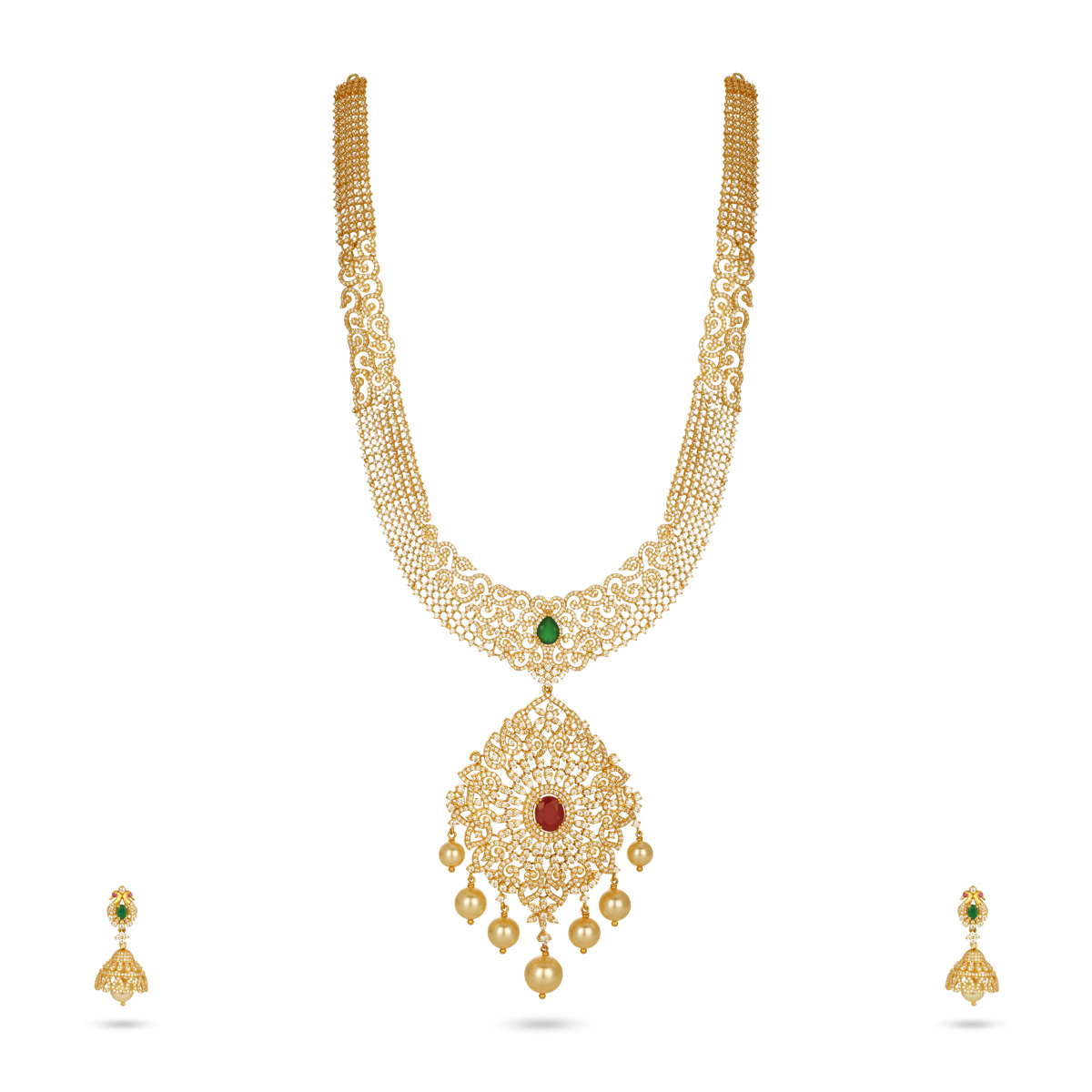 Luscious Necklace with Earrings
