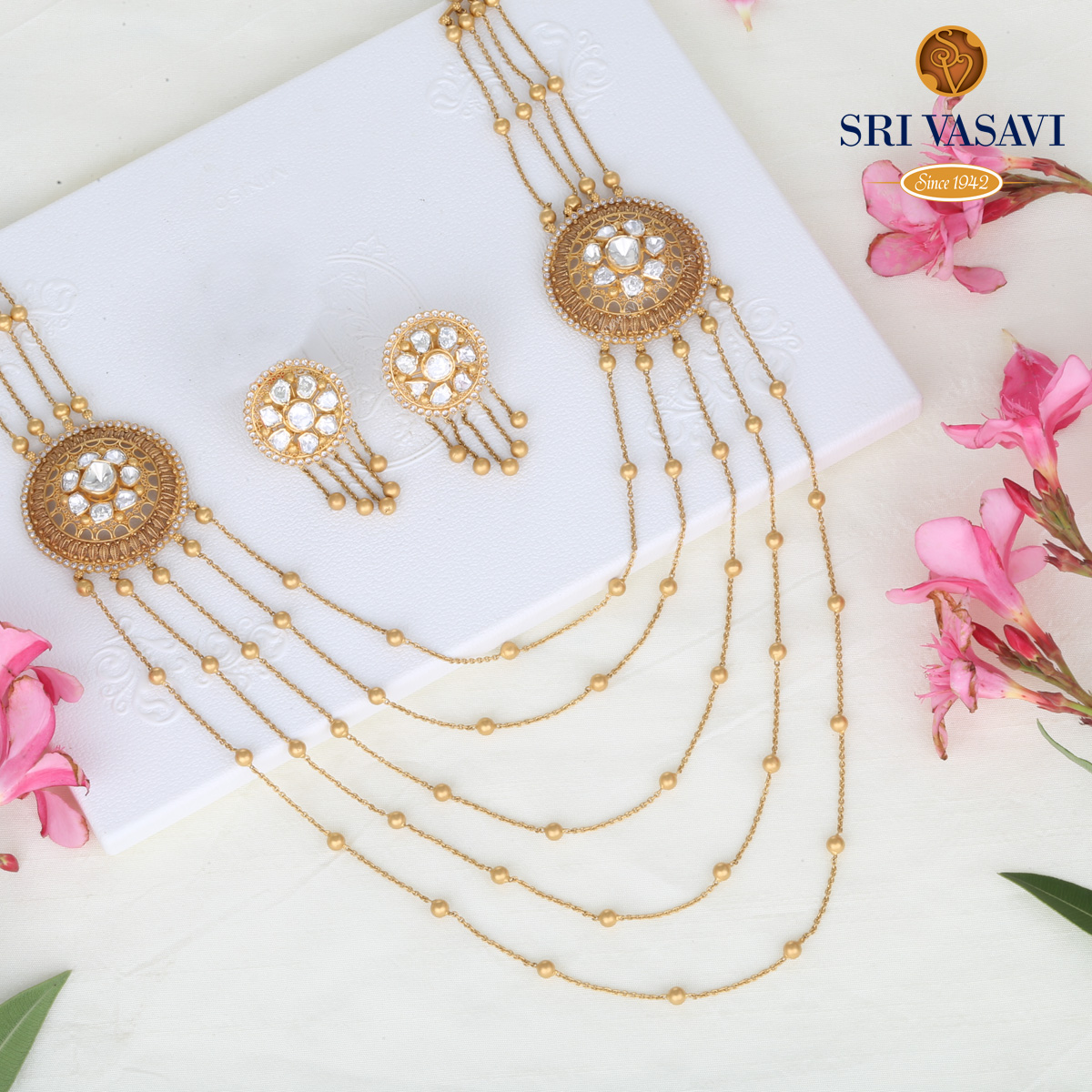 Regalia Layered Necklace Set