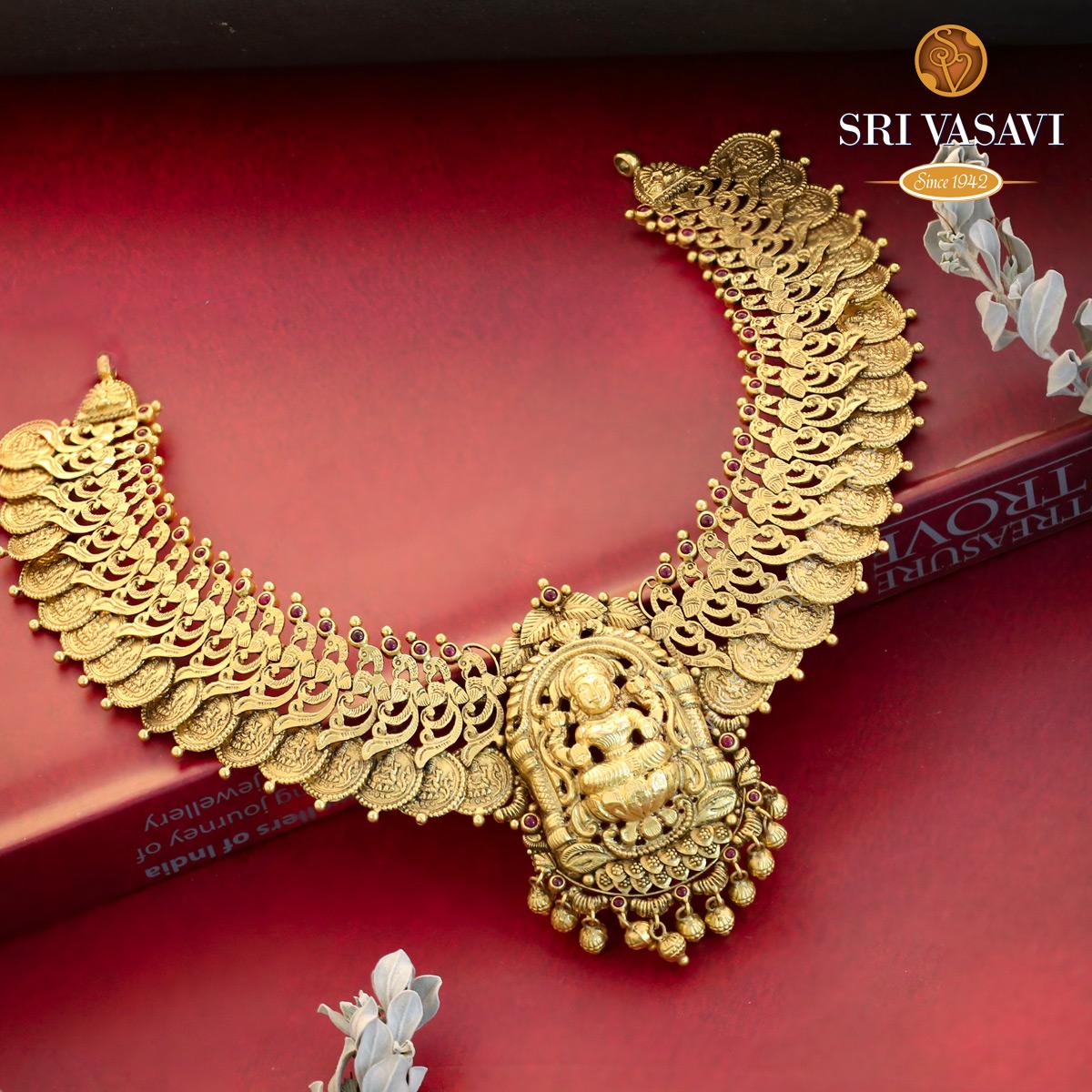Akshara Short Necklace