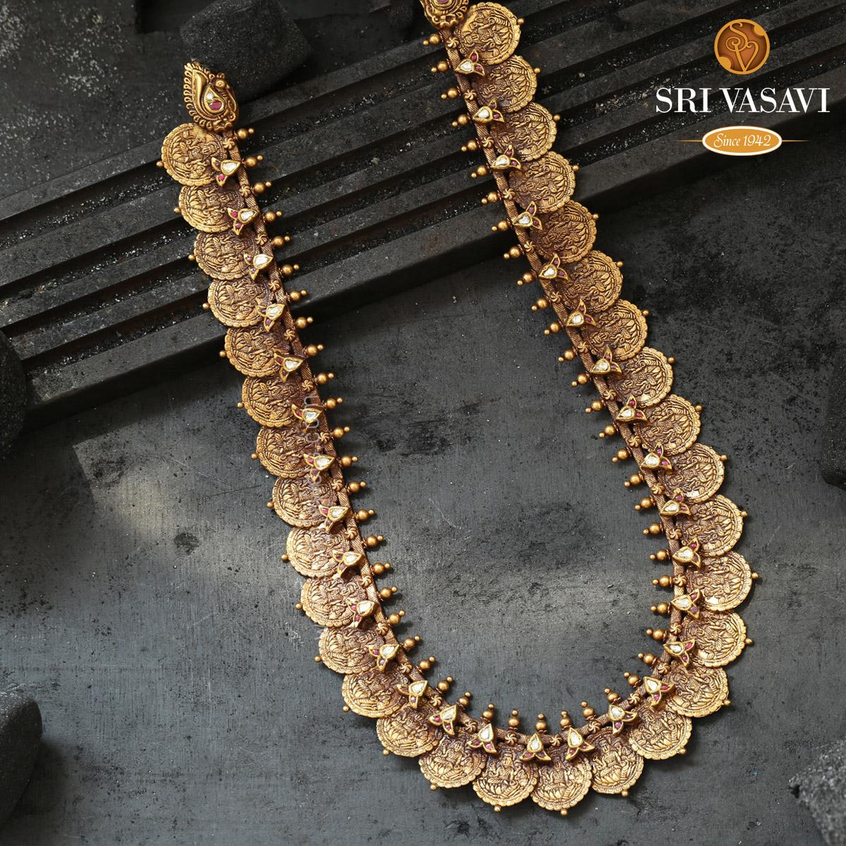 Hiranmayi Kaasu Necklace