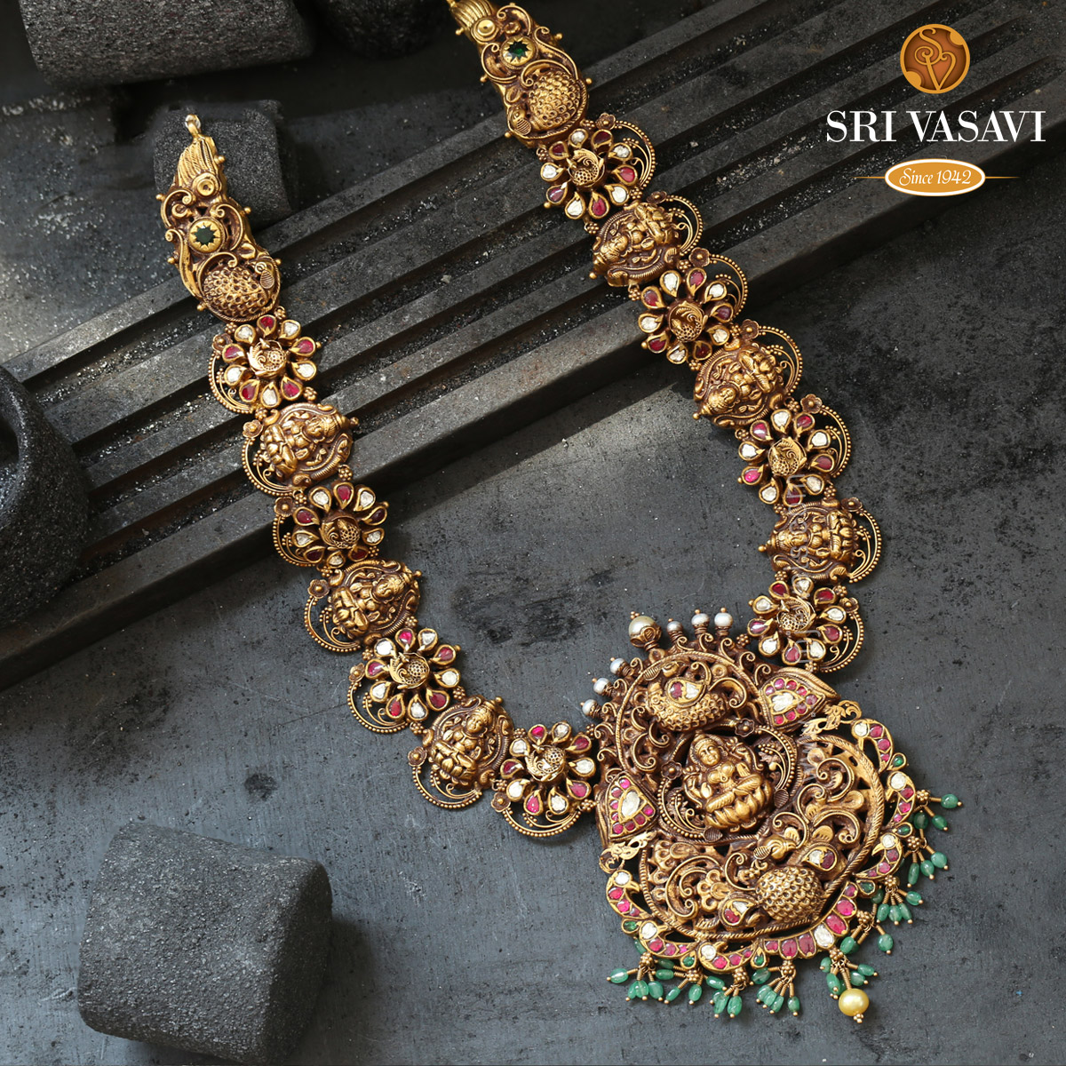 Prasannakshi Long Necklace