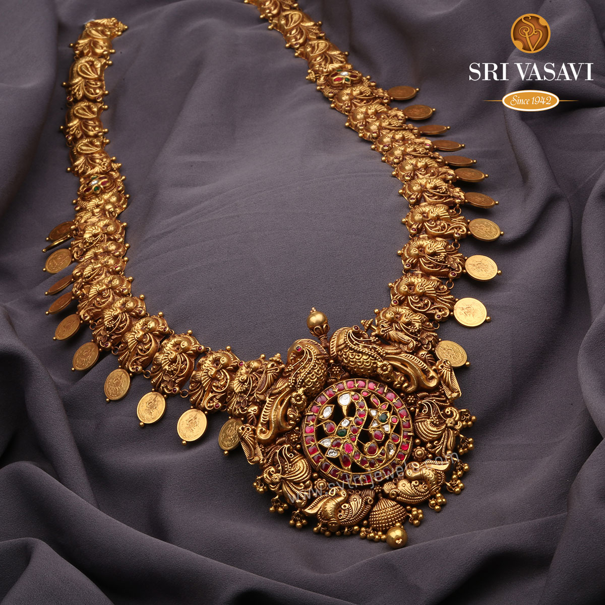 Pushti Antique Necklace