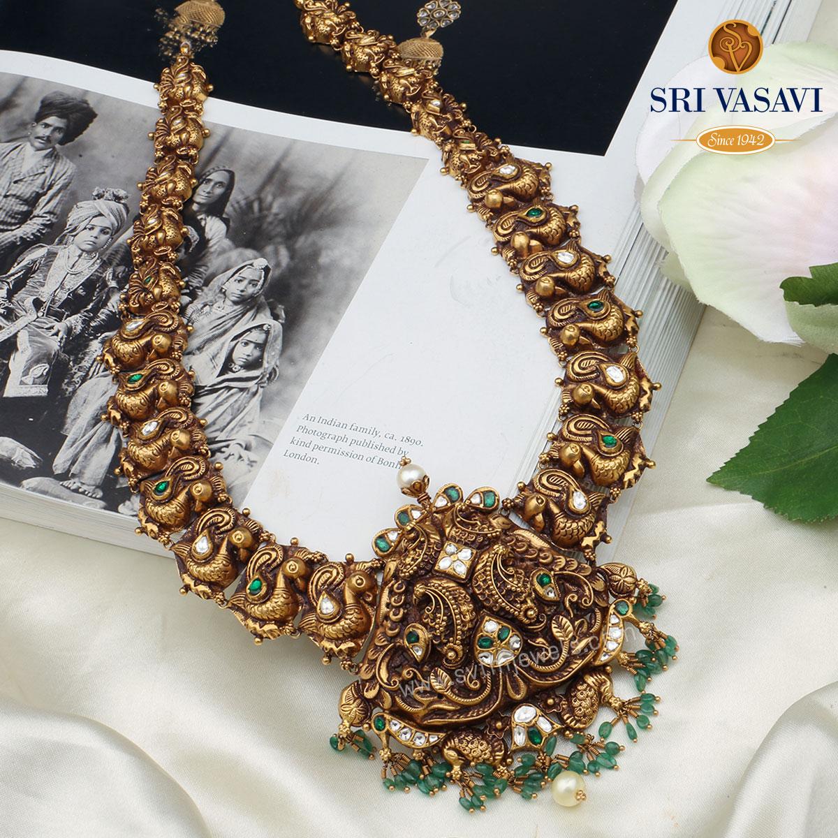 Padmakshi Antique Necklace