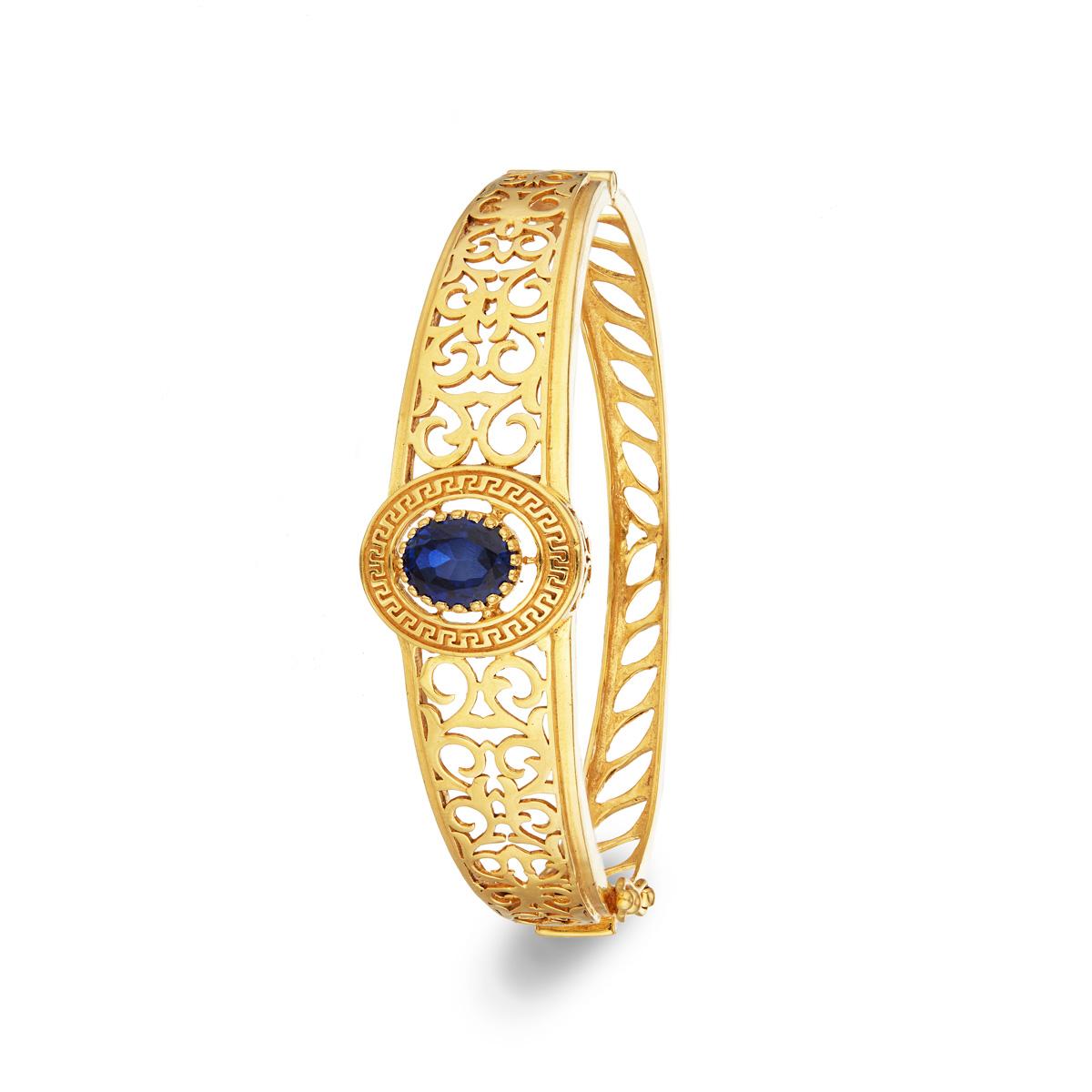 Filigree Delight Gold Bracelet
