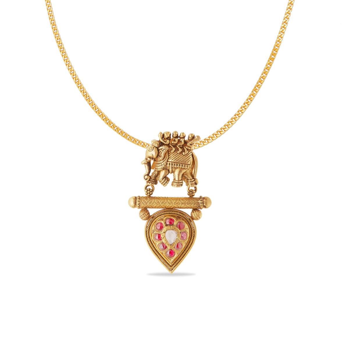 Vintage vinayak pendant.